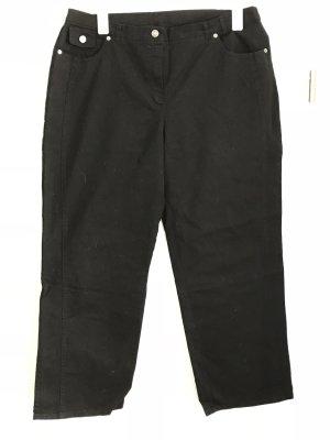 C&A Plus Size Jeans Gr.48k Bootcut Hose schwarz