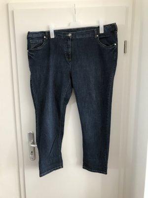 C&A Plus Size Jeans Gr.54 blau Straight Hose