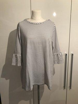 C&A Jersey de manga corta blanco-azul