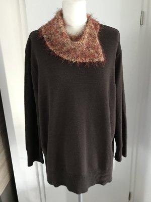 C&A Plus Size Pullover Gr.48/50 braun