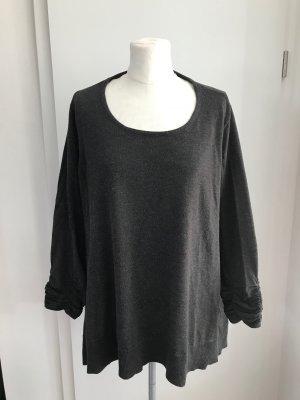 C&A Plus Size Pullover Gr.52/54 grau