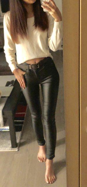 C&A Regular fit skinny schwarze Hose
