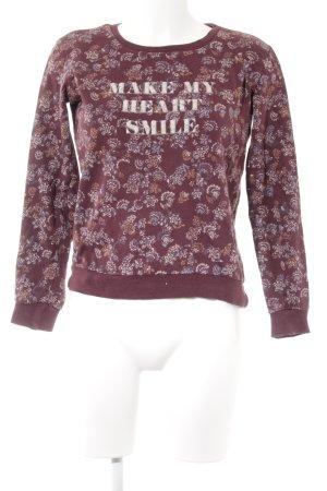 C&A Jersey de cuello redondo estampado floral look casual