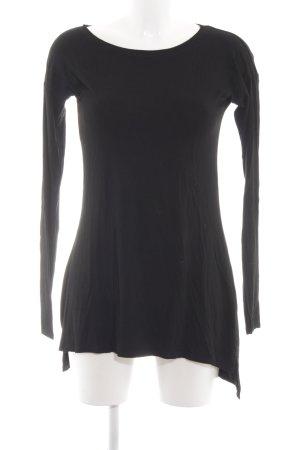 C&A Vestido estilo camisa negro look casual