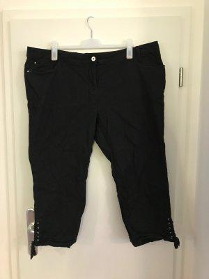 C&A 7/8 Length Trousers black cotton