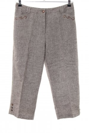 C&A Stoffhose braun meliert Business-Look