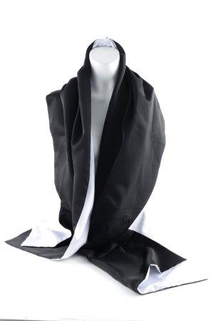 C&A Stole black-white elegant