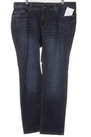 C&A Straight-Leg Jeans dunkelblau Jeans-Optik