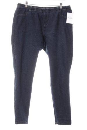 C&A Stretch Jeans dunkelblau Webmuster Casual-Look