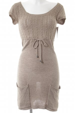 C&A Strickkleid camel Casual-Look