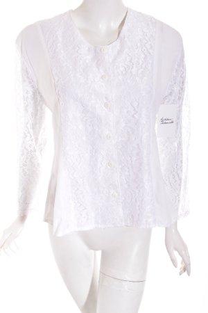 C&A Folkloristische blouse wit klassieke stijl