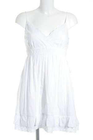 C&A Pinafore dress white romantic style