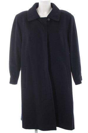 C&A Wollmantel dunkelblau klassischer Stil