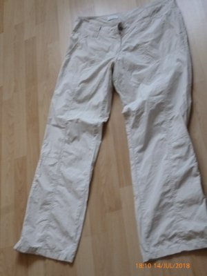 C&A Trousers oatmeal cotton