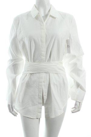 C/meo Bluse wollweiß minimalistischer Stil