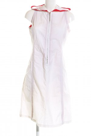 C.P. Company Hooded Dress white-red casual look
