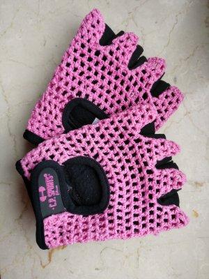 C.P. Sports Fitnesshandschuhe pink Größe S