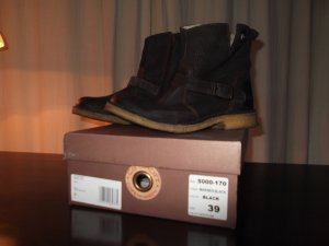 CA' SHOTT bequeme Boots, black marienes, Gr. 39