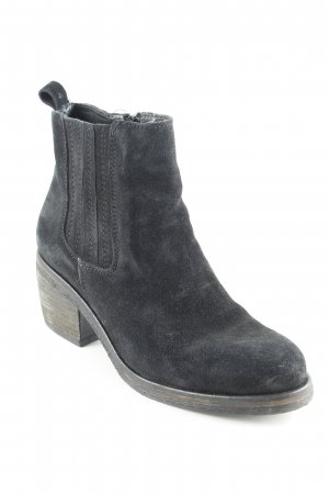 Ca Shott Reißverschluss-Stiefeletten schwarz Casual-Look