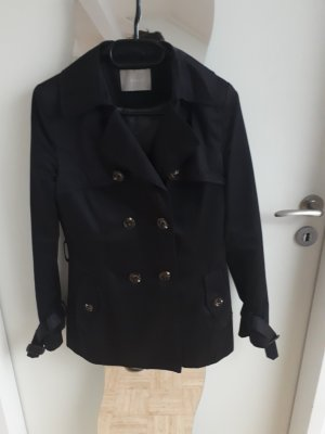 Orsay Heavy Pea Coat black