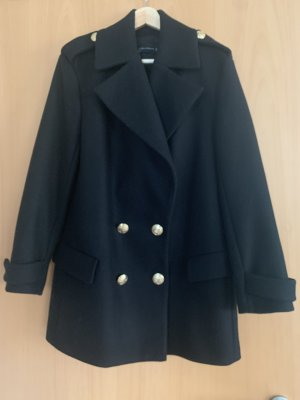 Zara Woman Pea Jacket black