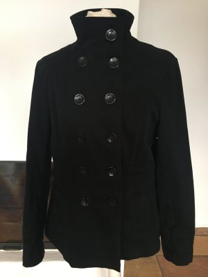 Pea Jacket black