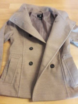 H&M Pea Jacket light brown