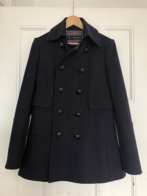 Dsquared2 Pea Jacket dark blue