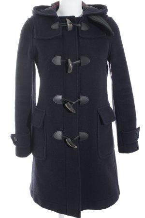 Pea Jacket dark blue business style
