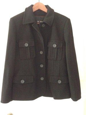 Cabanjacke Jacke schwarz Wollblazer Gr 38 Neu