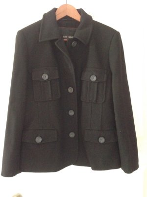 Defendo Pea Jacket black