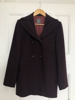 Marc Aurel Pea Jacket bordeaux