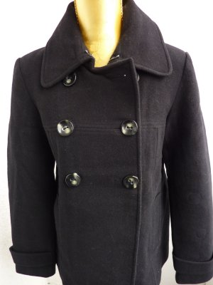 Cabanjacke schwarz Mantel kurz Tom Tailor
