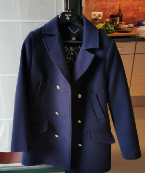 Heavy Pea Coat dark blue