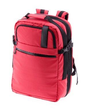 Sac à dos pour ordinateur portable rouge nylon