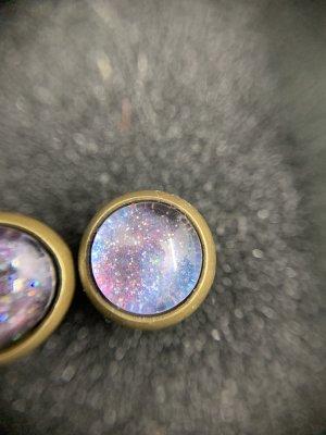 Ear stud light pink-baby blue