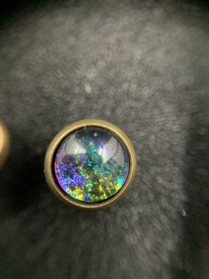 Cabochon Ohrringe selbstgemacht