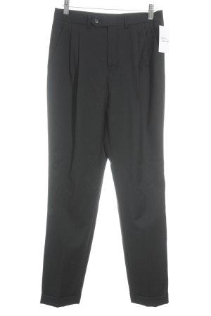 Cacharel Pantalón de pinza negro estilo «business»