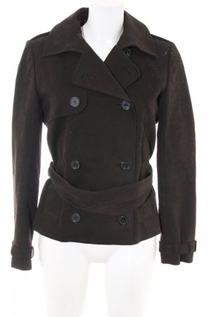 Cacharel Pea Jacket brown casual look