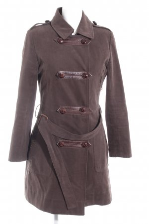 Cacharel Pea Jacket grey brown-brown casual look