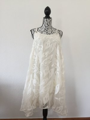 CACHAREL Damen Sommerkleid Weiß Gr. 38 NEUWERTIG