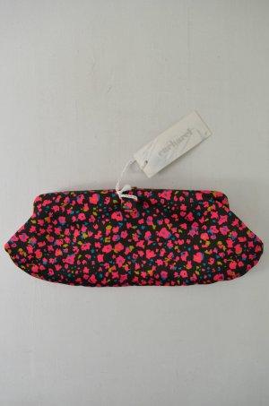CACHAREL Damen Tasche Clutch Abendtasche Schwarz Pink Blau Gold Leder Satin NEU