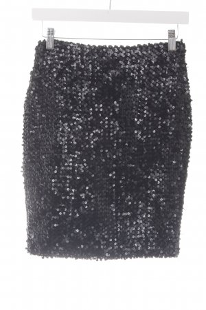 Cacharel Sequin Dress black glittery
