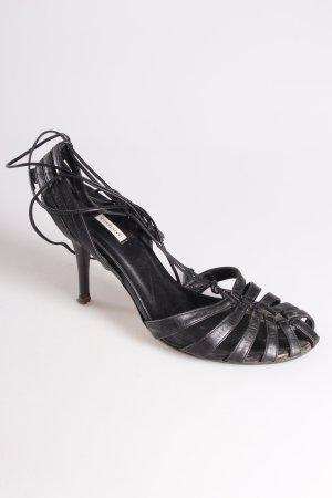 Cacharel Riemchen-Sandaletten Bindebänder