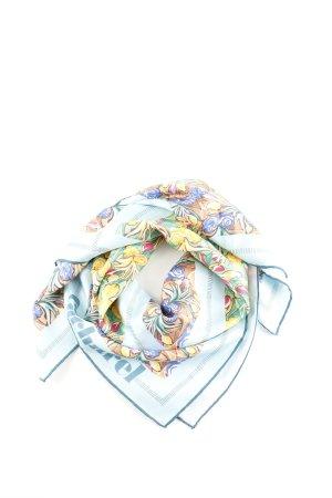 Cacharel Seidentuch Blumenmuster Casual-Look