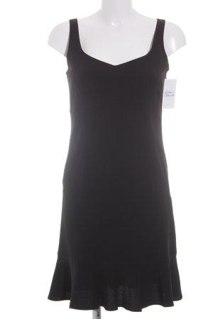 Cacharel Trägerkleid schwarz klassischer Stil