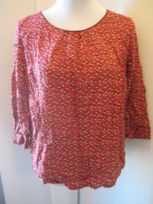 Cache & Cache Shirt 3/4 Arm rot weiss schwarz Gr 42/44