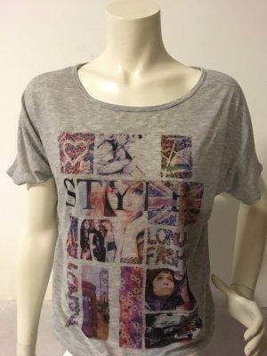 Cache Print Shirt Grau