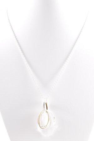 Cadenzza Halskette silberfarben Elegant