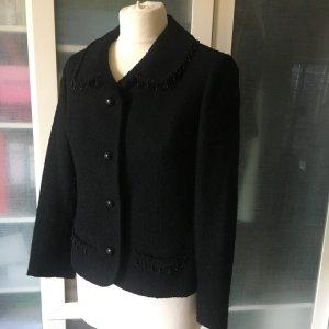 Wool Jacket black wool